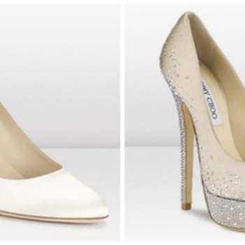 O sapato de noiva é um complemento importante para o Look de toda noiva. E se você busca o par ideal, não deixe de se inspirar com as coleções de sapatos para noivas de Jimmy Choo.
