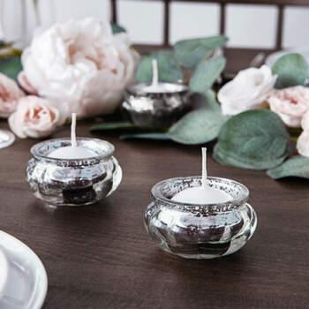 Candelero de plata de 4 piezas- Compra en The Wedding Shop