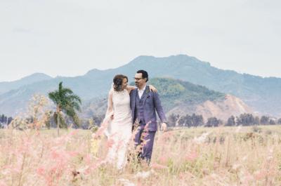 La boda de Andrés y Darlene: ¡si nos dejan nos vamos a querer toda la vida!