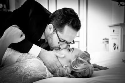 La rencontre du Nord et du Sud : Le joli mariage rétro de Cécile et Christophe
