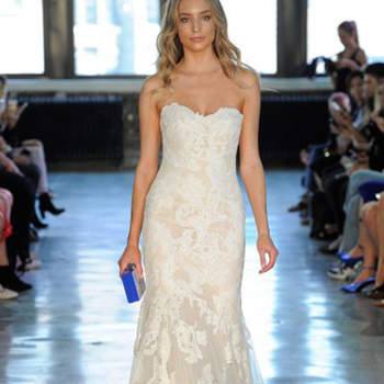 Kleid von Watters, Credits: New York Bridal Week