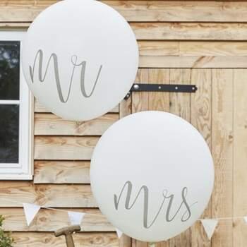 Ballons Maxi Mr Et Mrs - The Wedding Shop !
