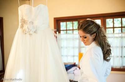 Maquillage pour une mariée d'automne