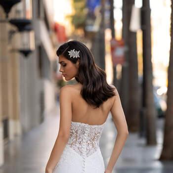 Vestido de noiva modelo Monroe da coleção Pronovias 2021 Cruise Collection