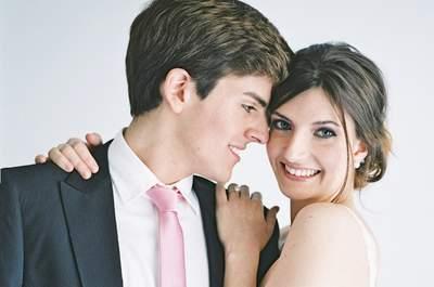 Una boda de estilo minimalista con toques muy románticos: ¡enamórate!