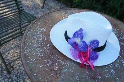 Idées pour une décoration de mariage violette