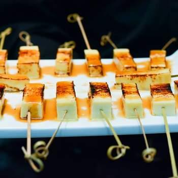 Bastonete de queijo coalho