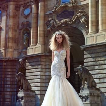 Foto: Modelo Adeline de Galia Lahav Haute Couture