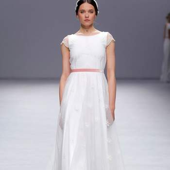 Cristina Tamborero. Barcelona Bridal Fashion week.