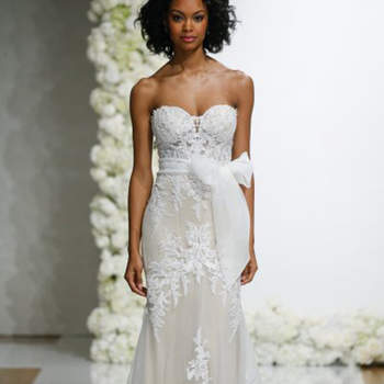 Kleid von MoriLee, Credits:  New York Bridal Week