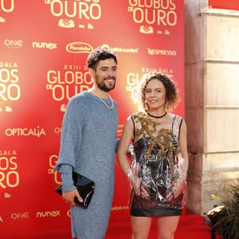 Com Filipe Sambado. Foto via IG mceciliahenriques