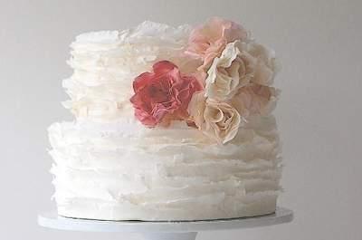 Pasteles para bodas artísticos