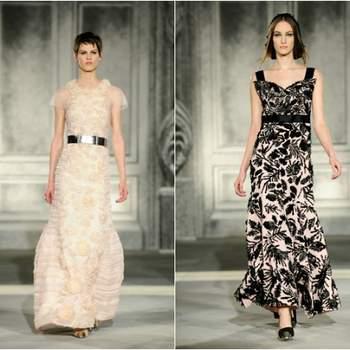 Karl Lagarfeld não é propriamente conhecido como um criador vintage; no entanto, esta colecção Chanel Haute Couture para o próximo Outono/Inverno pisca o olho a alguns traços mais tradicionais da casa Chanel.