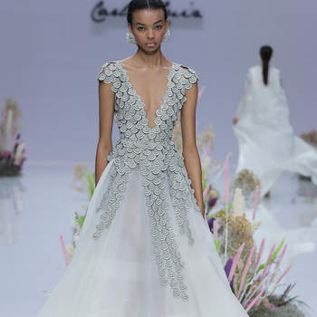 Carla Ruiz. Créditos: Barcelona Bridal Fashion Week