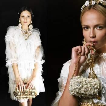 Toda noiva quer estar linda no dia do casamento. E além do vestido e do sapato, as jóias são complementos importantes. Para noivas que gostam de um estilo diferente, os modelos inspirados na época barroca, de Dolce & Gabbana são perfeitas inspirações.