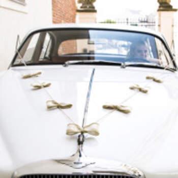 Kit complet voiture nœuds en dentelle - The Wedding Shop !