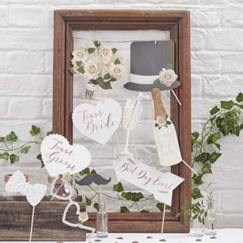 Accessoires Photocall Blanc - The Wedding Shop !