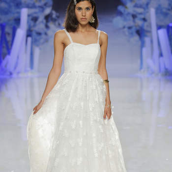 Inmaculada Garcia. Credits- Barcelona Bridal Fashion Week