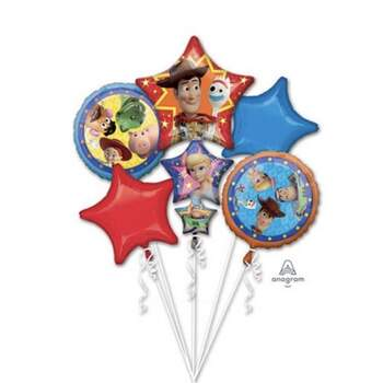 Bouquet 5 Ballons Toy Story 4 - The Wedding Shop !