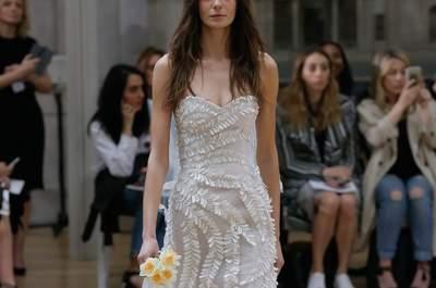Vestidos de noiva Oscar de la Renta 2018: novidades repletas de elegância e originalidade