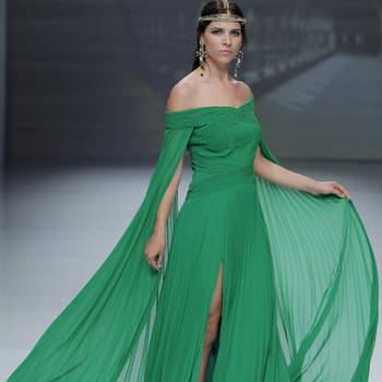 Matilde Cano. Credits: Barcelona Bridal Fashion Week