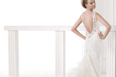 Los vestidos de Pronovias 2015: 25 modelos de ensueño con escote en la espalda