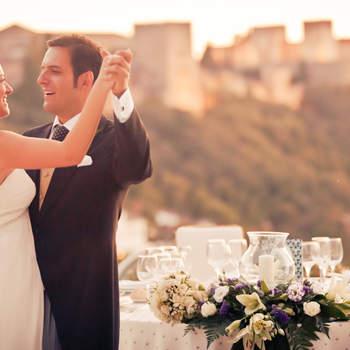 Eine schöne Aussicht ist auch ein sehr schönes Motiv für Ihr Hochzeitsfoto