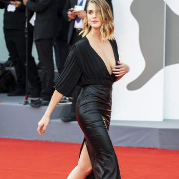 Gaia Weiss walks the red carpet ahead of the opening ceremony and the 'First Man' screening during the 75th Venice Film Festival at Sala Grande on August 29, 2018 in Venice, Italy. Photo by Marco Piovanotto/ABACAPRESS.COM