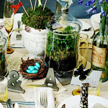 Les marques-places accessoiriseront à merveille les tables de votre mariage. Photo : Bhldn