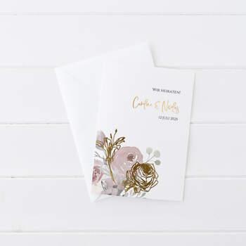 """Einladung Design """"Bloom"""""""