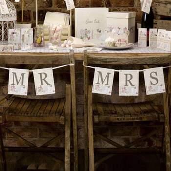 Bannière Mr Et Mrs Doux Amour - Achetez sur The Wedding Shop !