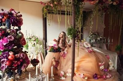 La impresionante y lujosa boda de Ina y Paul al estilo Dolce & Gabbana