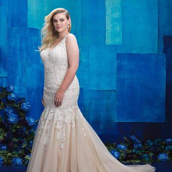 Style W390. Credits- Allure Bridals