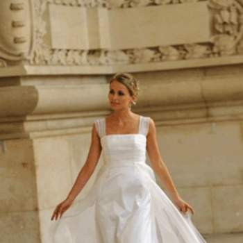 Robe de mariée Flore, vue de face - Crédit photo: Catherine Varnier