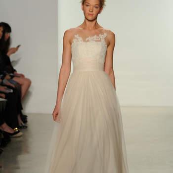 Свадебное платье с широким поясом от Christos 2015