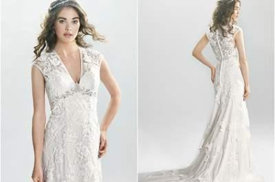 Vestidos de novia Lillian West 2016: Diseños llenos de encanto y romanticismo