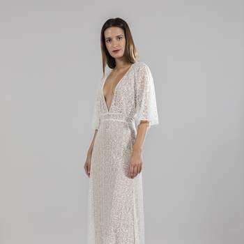 Photo : Printemps Mariage - Blanche, robe Aneth 4.920€