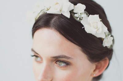 Los tocados para novia más hermosos. ¡Asombrosos diseños para deslumbrar!