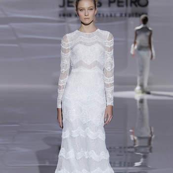 Créditos: Jesús Peiró   Barcelona Bridal Fashion Week
