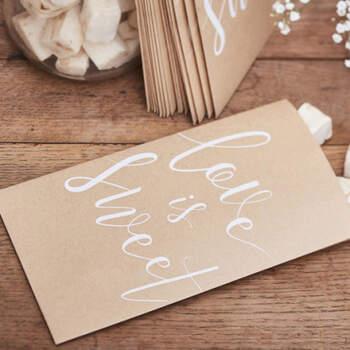 Bolsas Dulce Amor 20 Unidades- Compra en The Wedding Shop