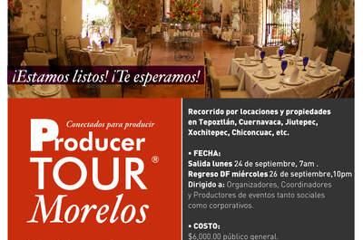 Producer Tour Morelos, conectados para producir