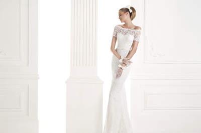 Os deslumbrantes vestidos de noiva modelo sereia da Pronovias 2015