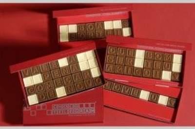 Convites de Casamento de Chocolate
