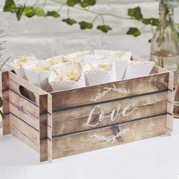 Cajita decorativa de madera - Compra en The Wedding Shop