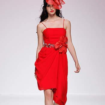 Vestidos rojo para invitadas a una boda