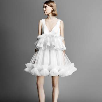 TULLE PATCHWORK MINI, Viktor and Rolf