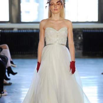 Kleid von Watters, Credits: New York Bridal Week