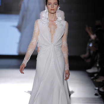 Rosa Clara. Credits: Barcelona Bridal Fashion Week