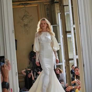 Robe de mariée Delphine Manivet - Crédit photo: Play like  Girl