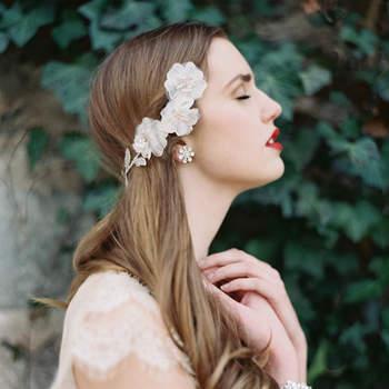 Seja uma noiva brilhante e única. Foto: Laura Gordon